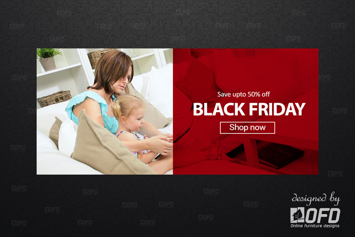 Black Friday Website Banner